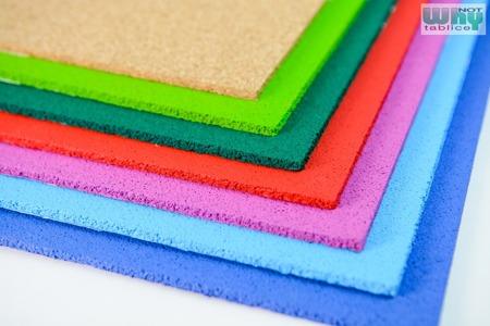 Korek samoprzylepny tablica kolorowa 45x61