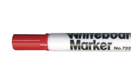 Marker suchościeralny do tablic 4 kolory Marvy