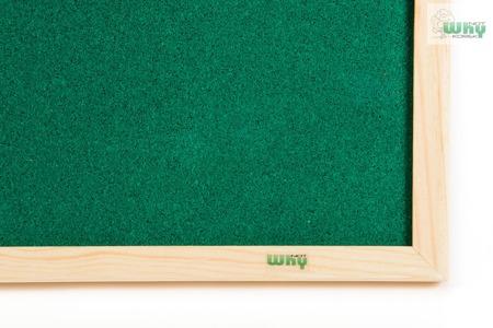 Tablica korkowa barwiona w ramie drewnianej 90x180 cm