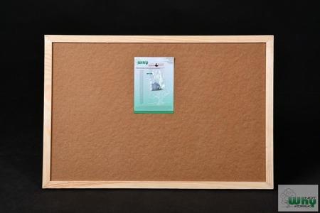 Tablica korkowa w ramie drewnianej 50x100 cm
