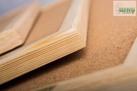Tablica korkowa w ramie drewnianej 50x80 cm