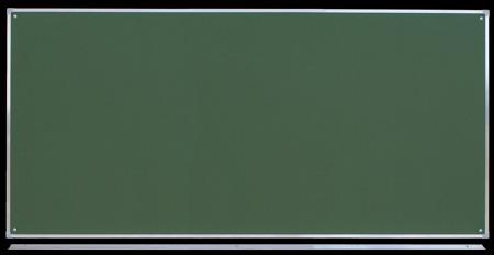 Tablica magnetyczno-suchościeralna w ramie aluminiowej 100x200 cm zielona